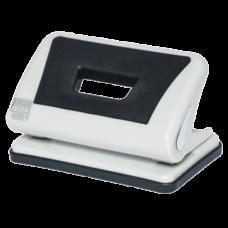Діркопробивач пластиковий з гумовою вставкою, (до 10арк.), сірий BM.4001-09