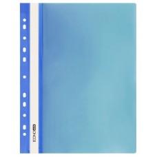 Швидкозшивач пласт. А4 Е31510-02 глянець з європерф. синій