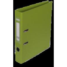 Реєстратор ELITE двост. А4, 50мм PP, салатовий, збірний BM.3002-15с