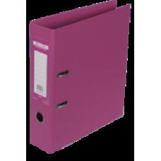 Реєстратор ELITE двост. А4, 70мм PP, рожевий, збірний BM.3001-10с