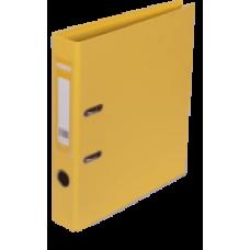 Реєстратор ELITE двост. А4, 50мм PP, жовтий,0 збірний BM.3002-08с