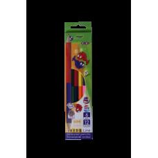 Кольорові олівці Double, 6 шт. (12 кольорів), KIDS LINE ZB.2462