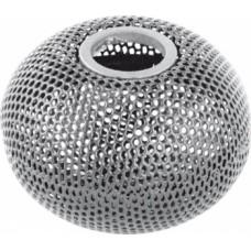 """Підставка для скріпок """"Шар"""", металева 75х57мм, срібло, ВМ. 6220-24"""