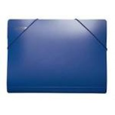 Папка на гумках А4 4OFFICE PP 4-209 синя