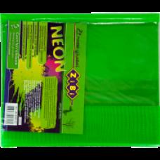 Обкладинка для зошитів NEON А5 з клапаном, PVC, салатова, ZB.4760-15