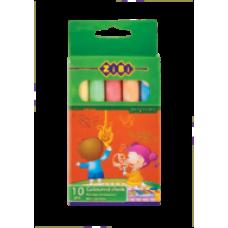 Крейда кольорова кругла 10шт., картонна коробка, KIDS Line, ZB.6700-99