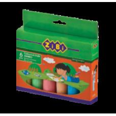 Крейда кольорова 6шт., JUMBO, картонна коробка, ZB.6710-99