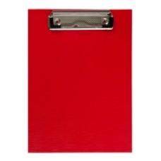 Кліпборд А5, PVC, червоний ВМ-3413-05