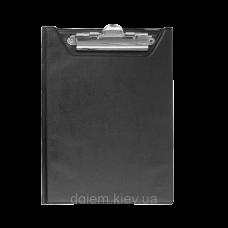 Клипборд-папка А5, PVC, чорний ВМ.3417-01