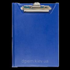 Клипборд-папка А5, PVC, т.-синій ВМ. 3417-03
