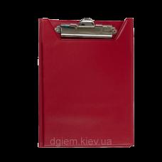 Кліпборд-папка А5, PVC, червоний ВМ. 3417-05