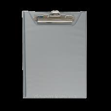 Клипборд-папка А4, PVC, сірий ВМ. 3417-09