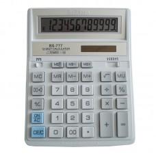 Калькулятор BRILLIANT BS-777WH 12р., 2-пит, білий