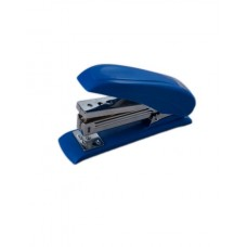 Степлер пластиковий POWER SAVING до 20арк., (скоби №24; 26), синій, ВМ. 4211-02