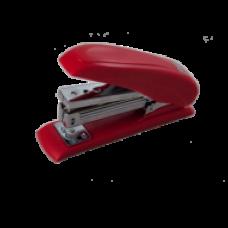 Степлер пластиковий POWER SAVING до 20арк., (скоби №24; 26), червоний, ВМ. 4211-05