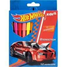 Фломастери KITE 12 шт Hot Wheels HW14-046