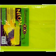 Обкладинка для зошитів NEON А5 з клапаном, PVC, жовта, ZB.4760-08