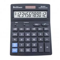 Калькулятор BS-0111 12р., 2-пит.BRILLIANT