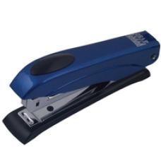 Степлер металевий Металік до 12арк., (скоби №10), синій.BM.4150-02