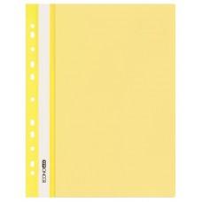 Швидкозшивач пласт. А4 E31510-05 глянець з європерфорацією жовтий