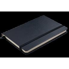 Блокнот діловий STRONG LOGO2U 95x140мм, 80арк., клітинка, чорний. BM.29012101-01