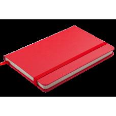 Блокнот діловий STRONG LOGO2U 95x140мм, 80арк., клітинка, червоний. BM.29012101-05