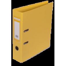 Реєстратор ELITE двост. А4, 70мм PP, жовтий, збірний BM.3001-08с