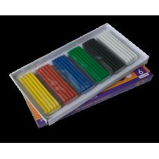 Пластилін 6 кольорів, 120 г. ZB.6221