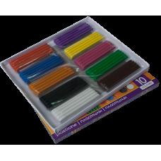 Пластилін 10 кольорів, 200 г. ZB.6223