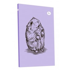 "Блокнот TM Profiplan ""Animal note"", hamster, В6. 50667/1. violet."
