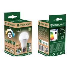 LED лампа ENERLIGHT А60 12Вт 3000К Е27