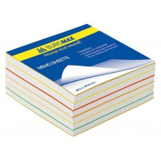 "Блок паперу для нотаток ""Веселка"" 90х90х40мм, скл, ВМ. 2244"