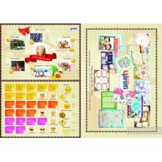 Карта мечты в тубусе Dream and Go kids. 50100