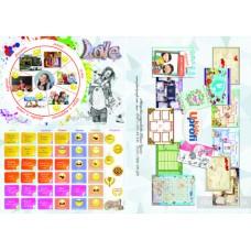 Карта мечты в тубусе Dream and Go teen. 50117