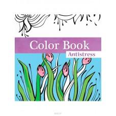 "Блокнот-антистресс TM Profiplan ""Color book"". 50162 + карандаши 6шт.-9402-6"