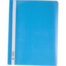 Швидкозшивач пласт. А4, PP, блакитний BM.3311-14