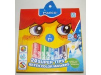 Фломастери Marco 24 кольори  Super Washable 1630-24СВ