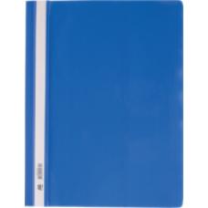 Швидкозшивач пласт. А4, PP, синій, ВМ. 3311-02