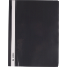 Швидкозшивач пласт. А4, PP, чорний, ВМ. 3311-01