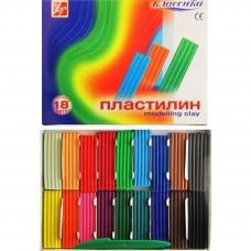 "Пластилін ""Луч"" 18 кольор. ""Класика"" 25С1522-08"