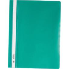 Швидкозшивач пласт. А4, PP, зелений BM.3311-04