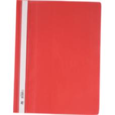 Швидкозшивач пласт. А4, PP, червоний BM.3311-05