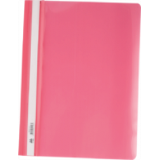Швидкозшивач пласт. А4, PP, рожевий BM.3311-10