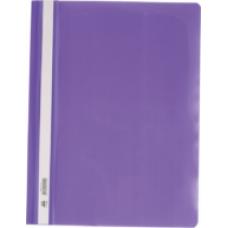 Швидкозшивач пласт. А4, PP,  фіолетовий BM.3311-07