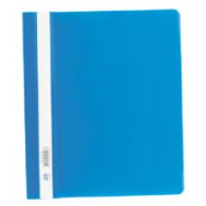 Швидкозшивач пласт. А5, PP,  синій BM.3312-02