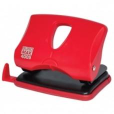 Діркопробивач пластиковий (до 20арк.), червоний BM.4009-05