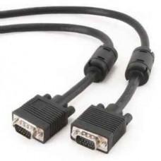 Кабель VGA 3м Cablеxpert (CC-PPVGA-10-B) премиум качество,HD15M папа /HD15M папа, вдвойне экранирова