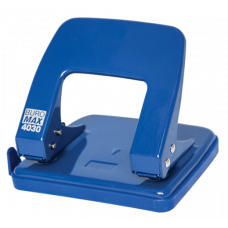 Діркопробивач металевий (до 25арк.), синій, ВМ. 4030-02