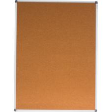 Дошка коркова, 90x120см, ал. рамка.BM.0018