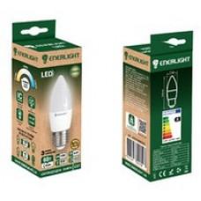 LED лампа ENERLIGHT С37 7Вт 3000К Е27